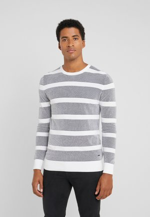 VALENTIN - Jumper - navy/white
