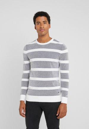 VALENTIN - Pullover - navy/white