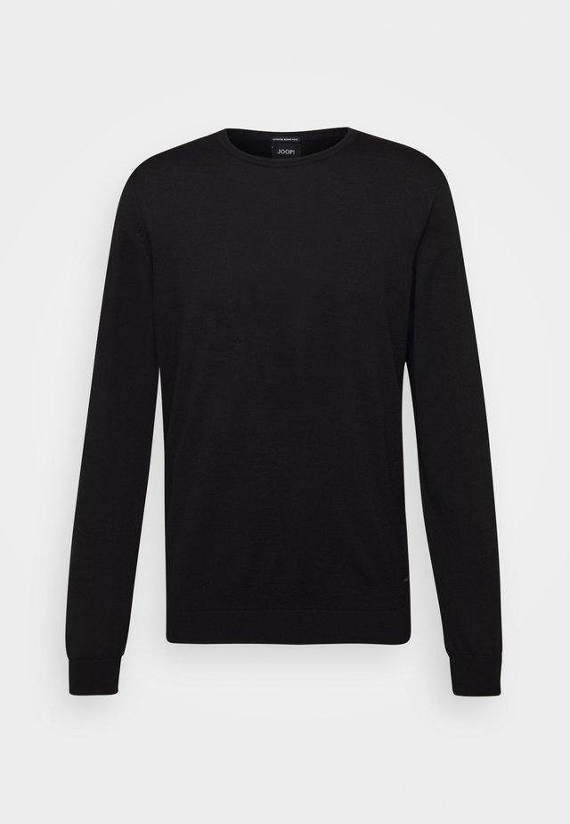 DENNY - Pullover - black