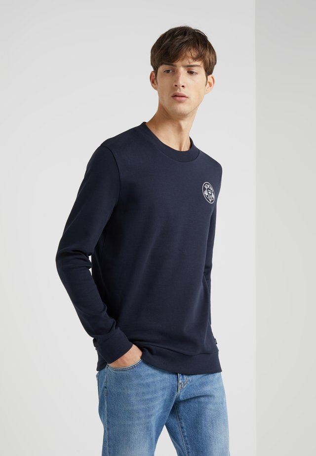 ALFRED - Long sleeved top - navy