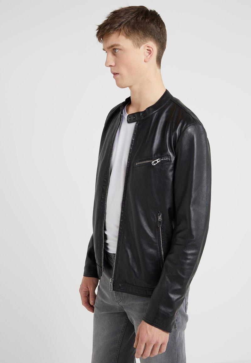 JOOP! - CLIFF - Leather jacket - black