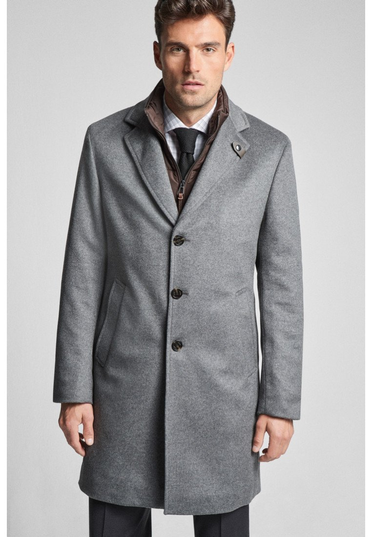 JOOP! - REGULAR FIT - Classic coat - gray melange