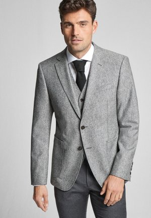 SAKKO HALO - Blazer - heather grey