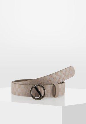 Belt - nude-beige