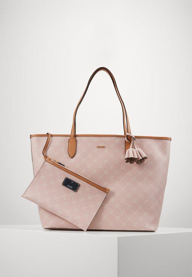 CORTINA LARA SET - Shopping Bag - rose