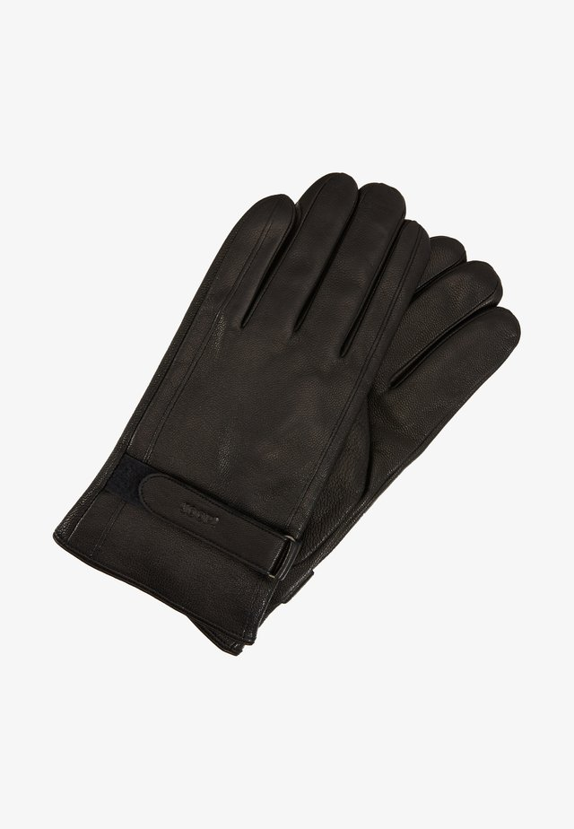 GLOVES - Fingervantar - black