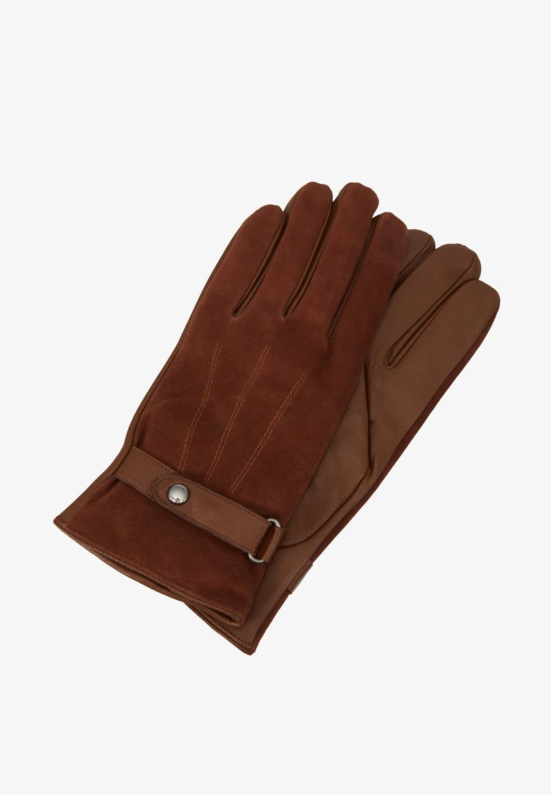 JOOP! - GLOVES - Fingervantar - brown