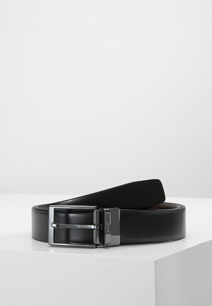 BELT - Formální pásek - black/brown