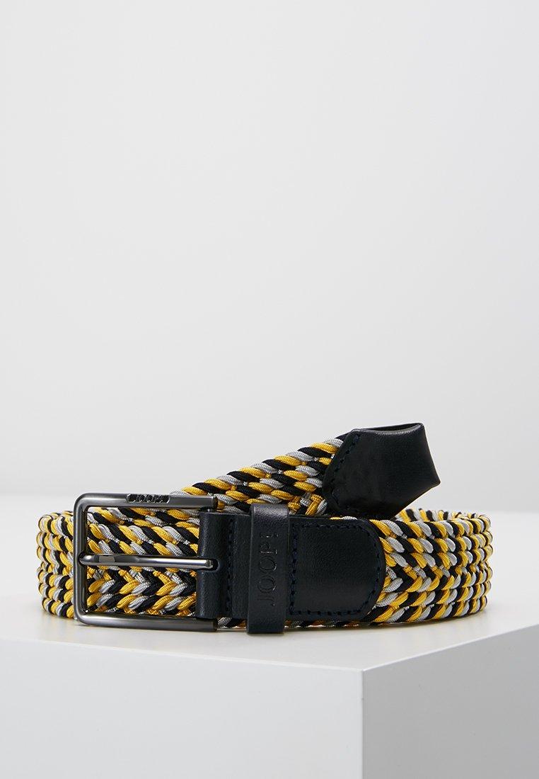 JOOP! - BELT - Cinturón trenzado - yellow/blue/grey