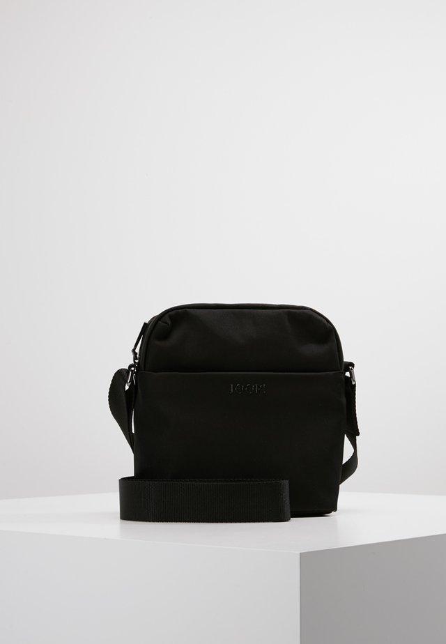 MARCONI SHOULDERBAG REMUS - Across body bag - black