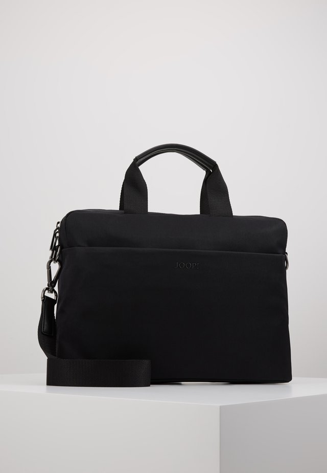 MARCONI PANDION BRIEFBAG - Salkku - black