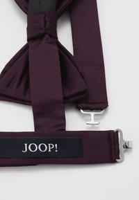 JOOP! - SET - Kapesník do obleku - bordeaux - 2