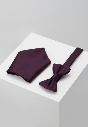 SET - Lommetørklæde - bordeaux
