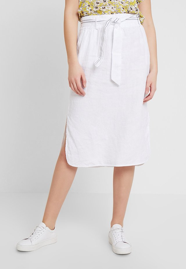 CARLOS SKIRT - Pencil skirt - white