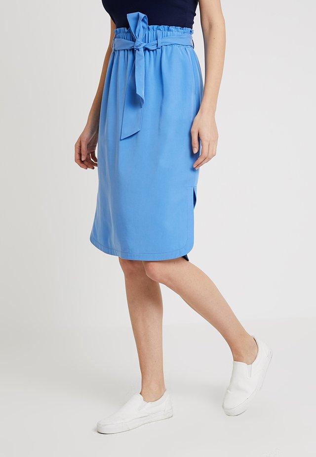 CAMIEL SKIRT - A-linjainen hame - blue