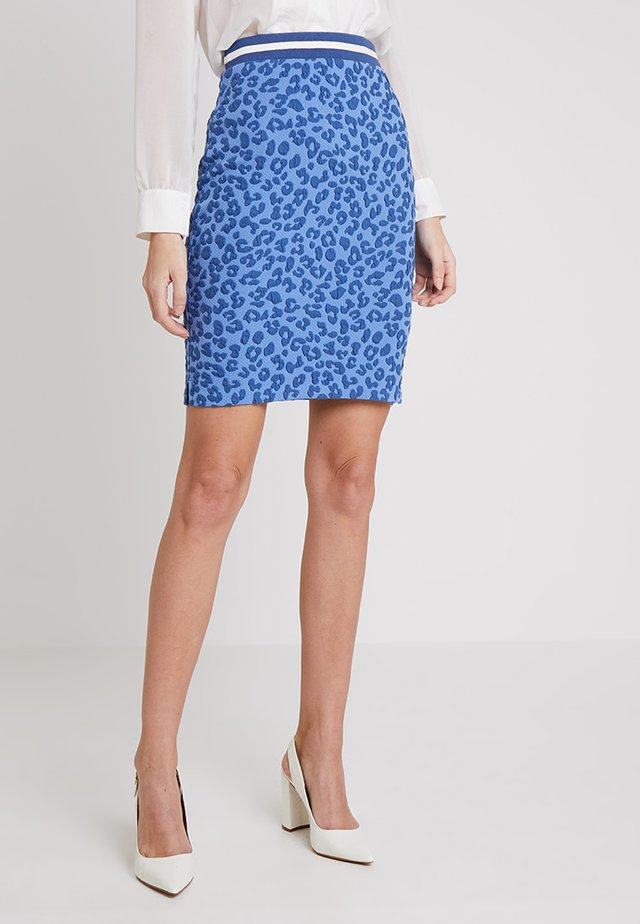 Cissy skirt - Pencil skirt - blue