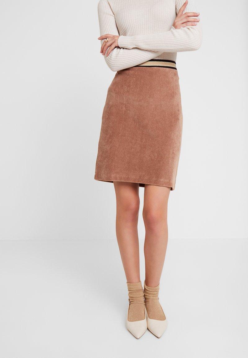 Josephine & Co - GRETA SKIRT - Minifalda - camel