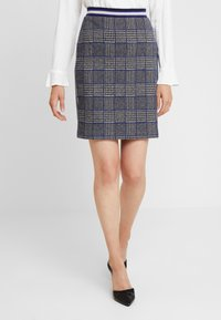 Josephine & Co - GRETA SKIRT - Minijupe - check navy - 0
