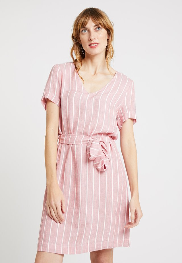 CARMELIA DRESS - Korte jurk - red