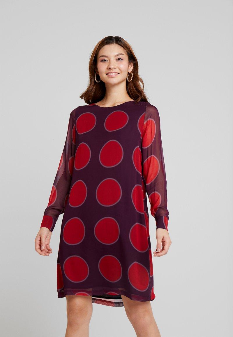 Josephine & Co - GENTIL DRESS - Day dress - aubergine