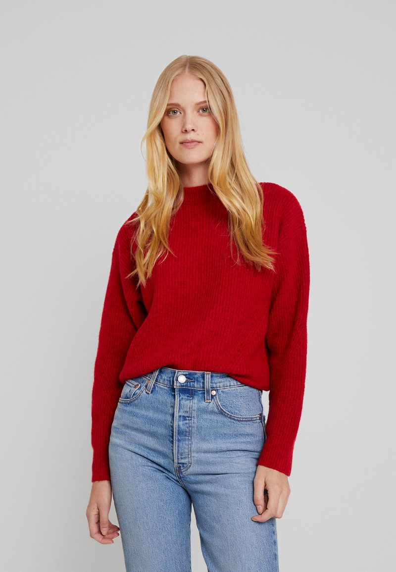 Josephine & Co - GYTHA - Strickpullover - tomato red