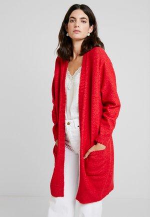 GWEN CARDIGAN - Vest - tomato red