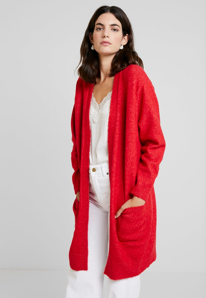Josephine & Co - GWEN CARDIGAN - Strickjacke - tomato red