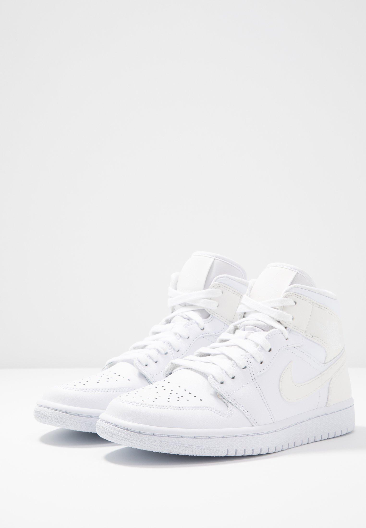 AIR Jordan 1 montantes white MIDBaskets QdCsrth