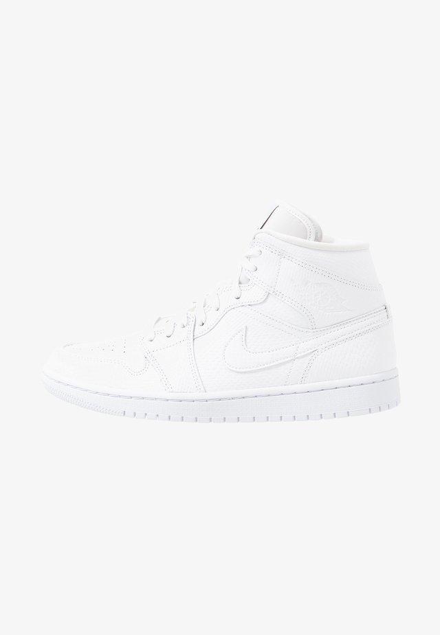 AIR 1 MID  - Sneaker high - white/black