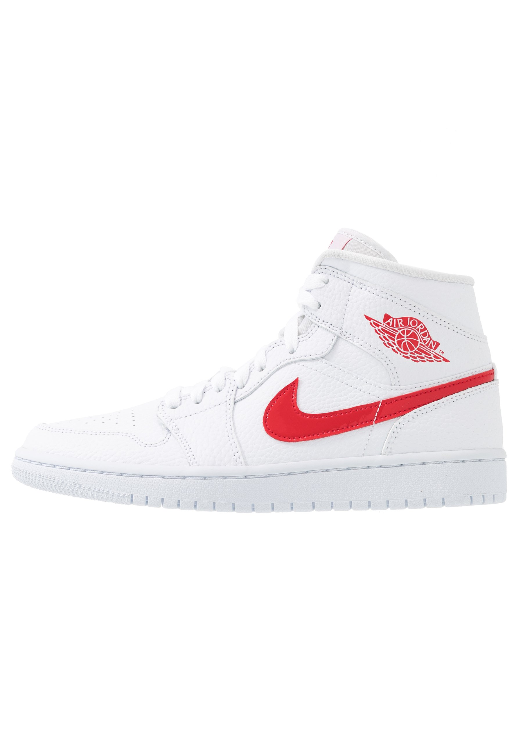 AIR 1 MID Baskets montantes whiteuniversity red