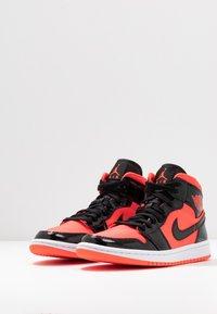 Jordan - AIR 1 MID  - Baskets montantes - bright crimson/black - 4
