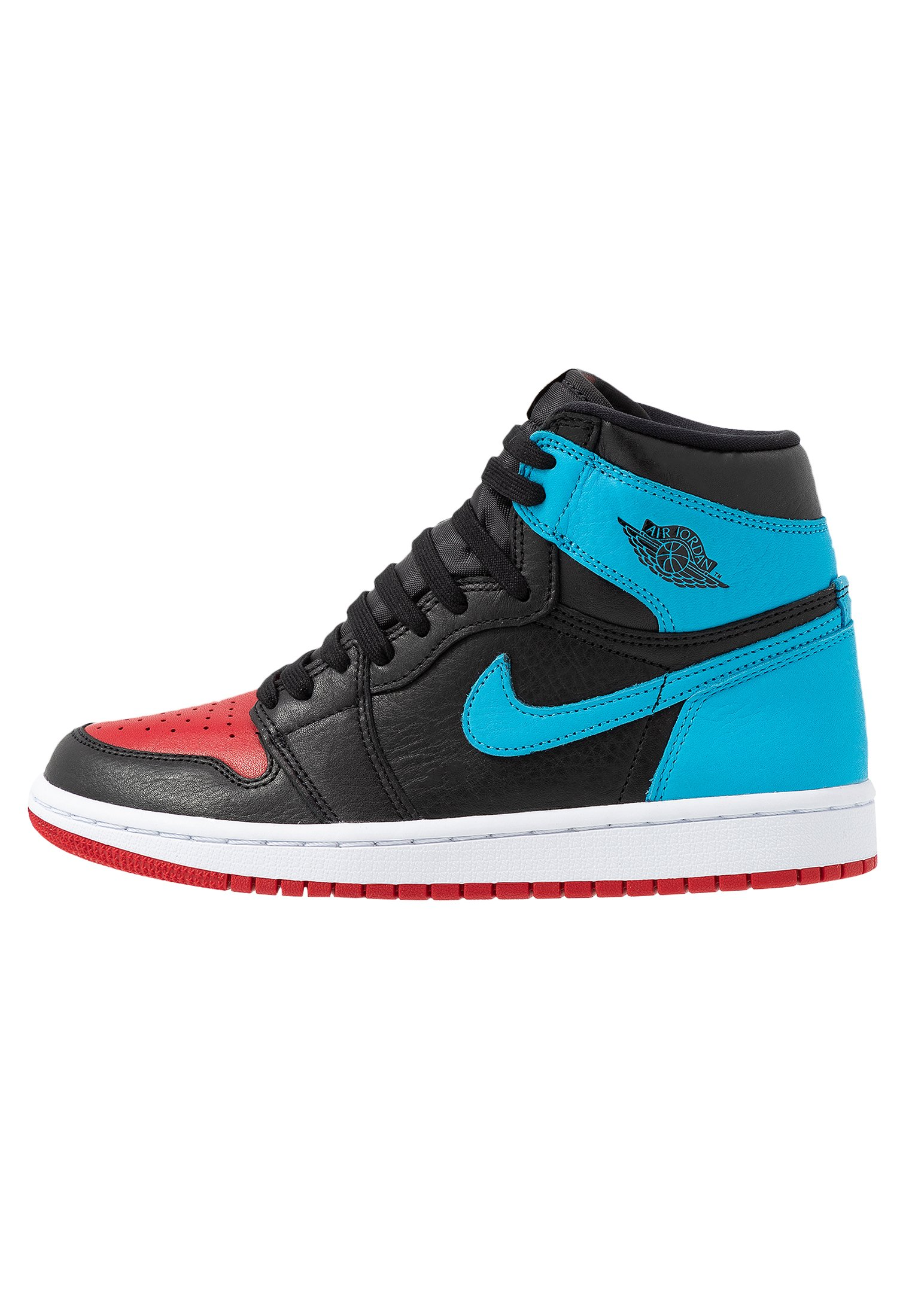 AIR 1 Höga sneakers blackdark powder bluegym red
