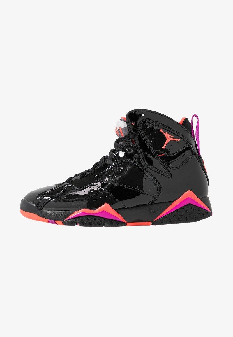 Jordan - AIR 7 RETRO - Sneakers high - black/bright crimson/anthracite/smoke grey