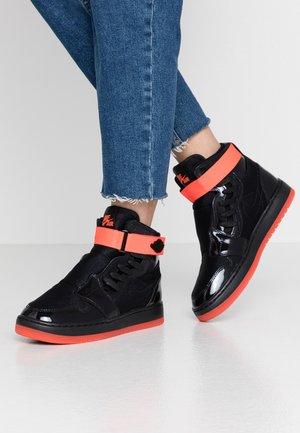 AIR 1 NOVA XX - Baskets montantes - black/bright crimson