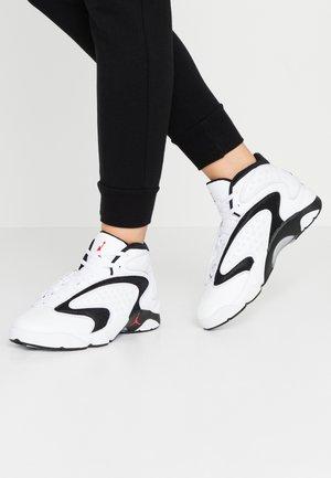 AIR OG - Sneaker high - white/university red/black