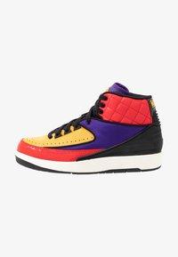 Jordan - AIR JORDAN 2 RETRO - Sneakers hoog - action red/black/cosmic purple - 1
