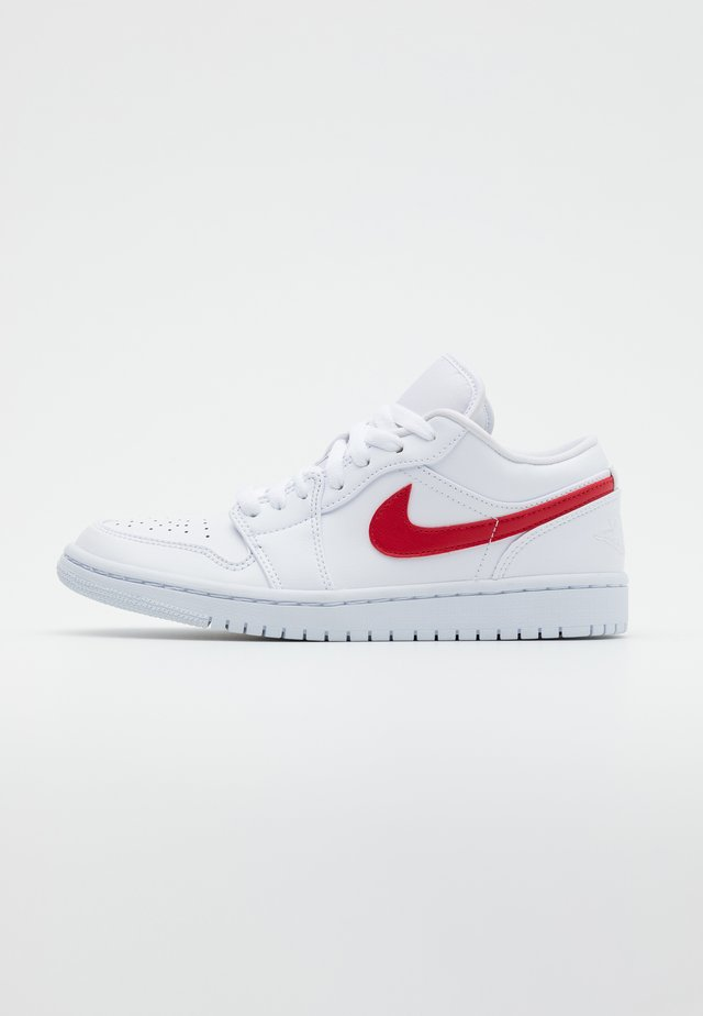 AIR 1  - Sneaker low - white/university red