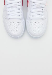 Jordan - AIR 1  - Sneakers laag - white/university red - 5