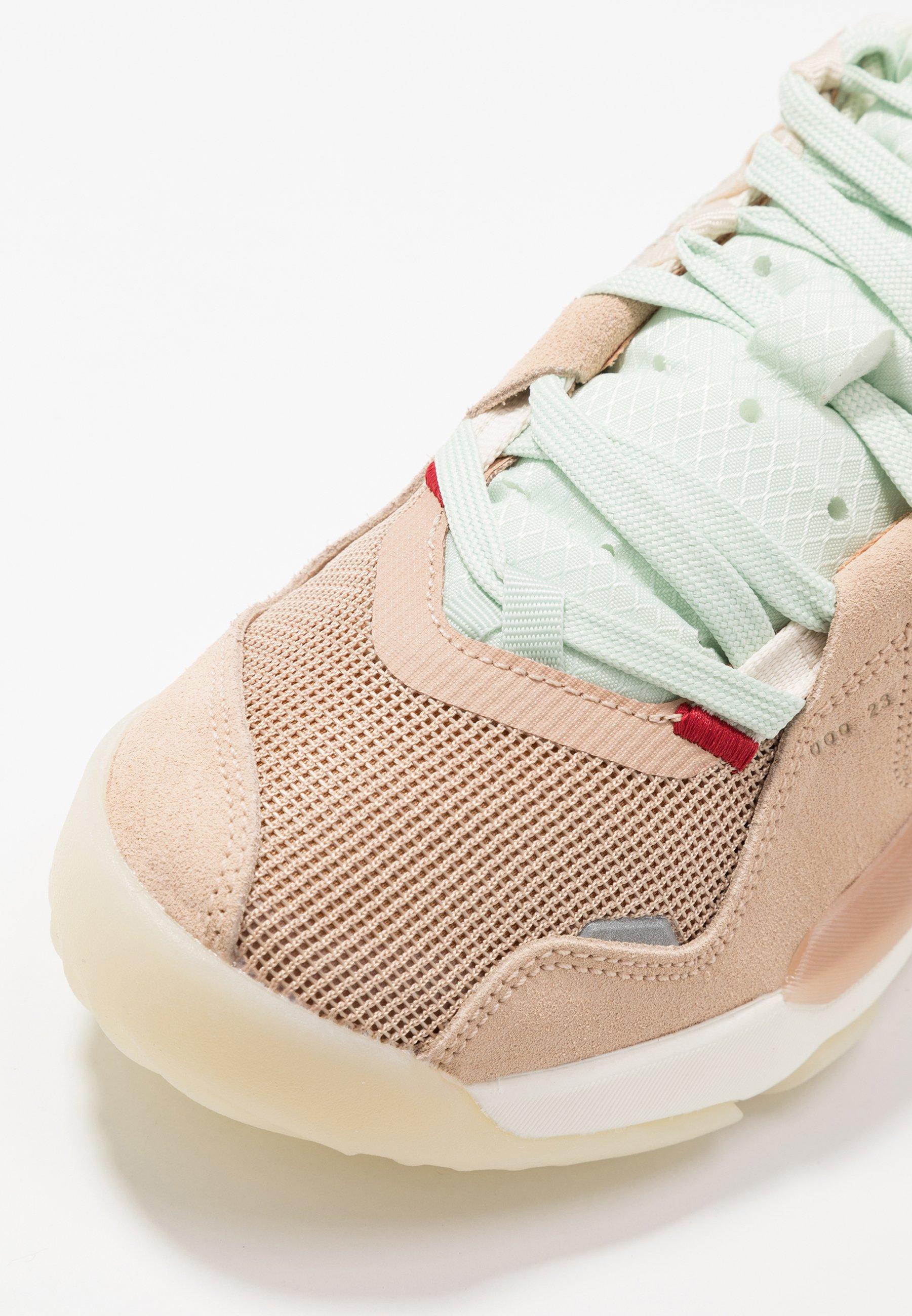 Jordan Delta - Baskets Basses Shimmer/sail/tan/light Cream/rust Factor/galactic Jade