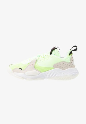 DELTA - Sneakersy niskie - barely volt/chile red/black/sail/white