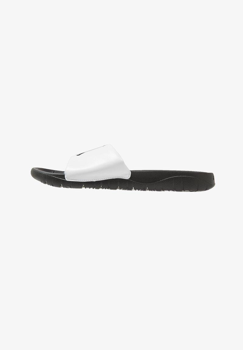Jordan - BREAK SLIDE - Sandaler - white/black