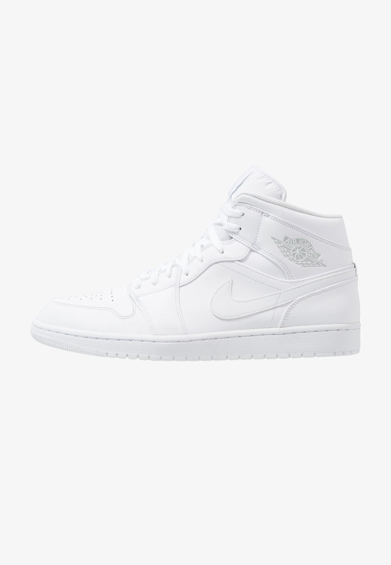 Jordan - AIR 1 MID - Sneakers hoog - white/platinum