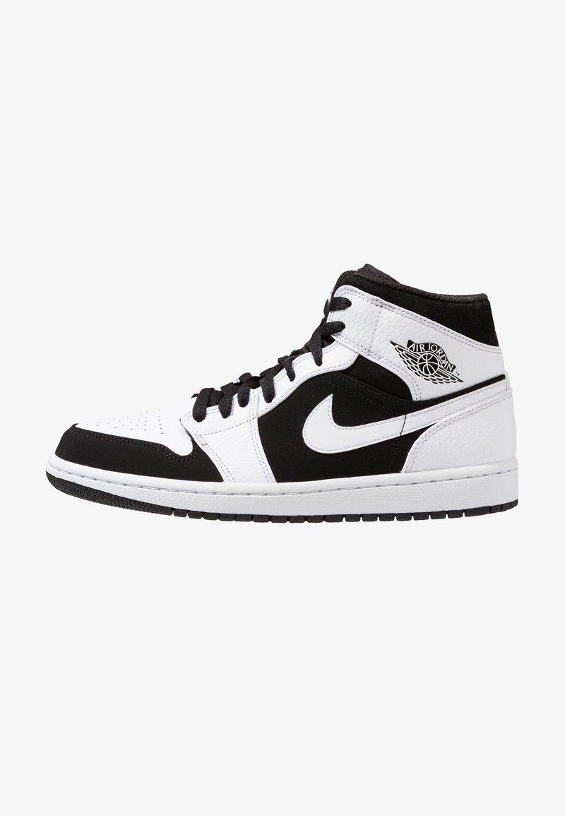 Jordan - AIR JORDAN 1 MID - High-top trainers - white/platinum