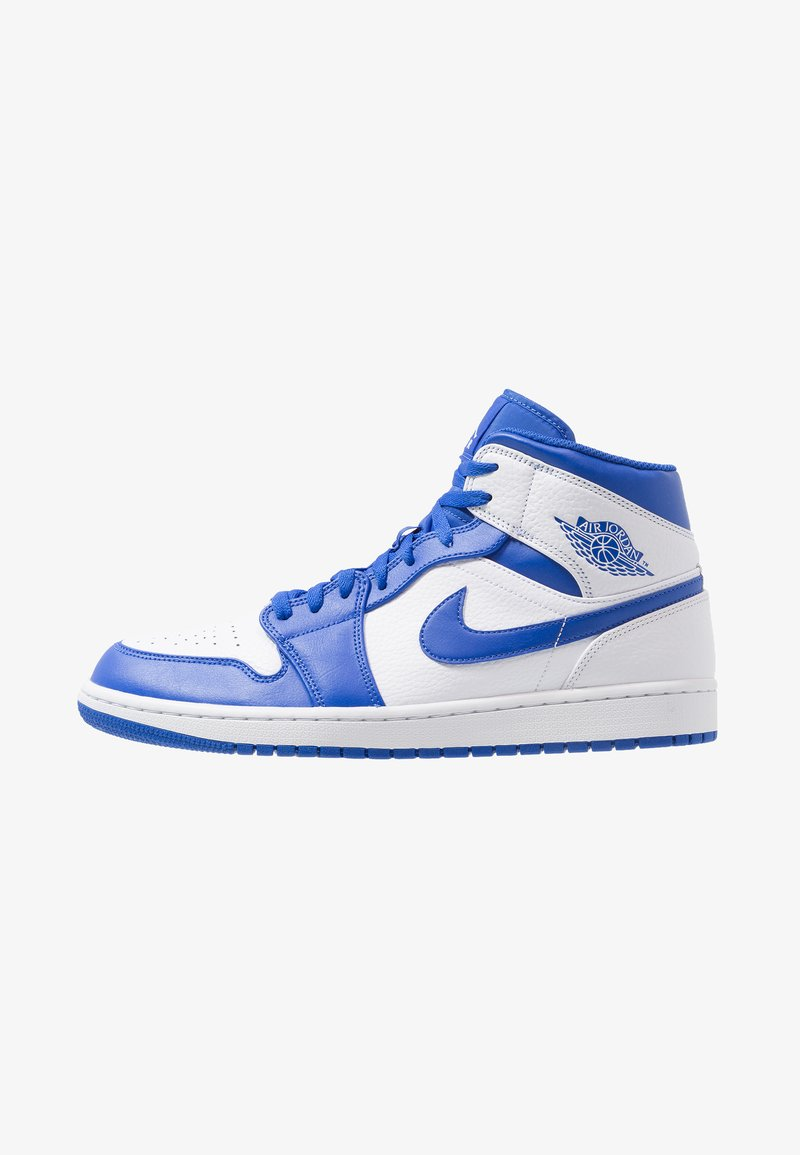 Jordan - AIR 1 MID - Korkeavartiset tennarit - white/pure platinum