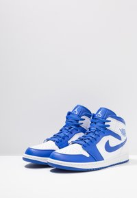 Jordan - AIR 1 MID - Korkeavartiset tennarit - white/pure platinum - 2