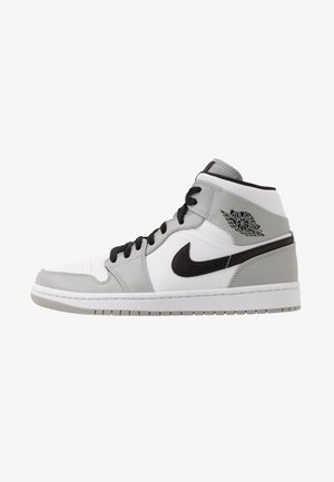 AIR 1 MID - High-top trainers - light smoke grey/black/white