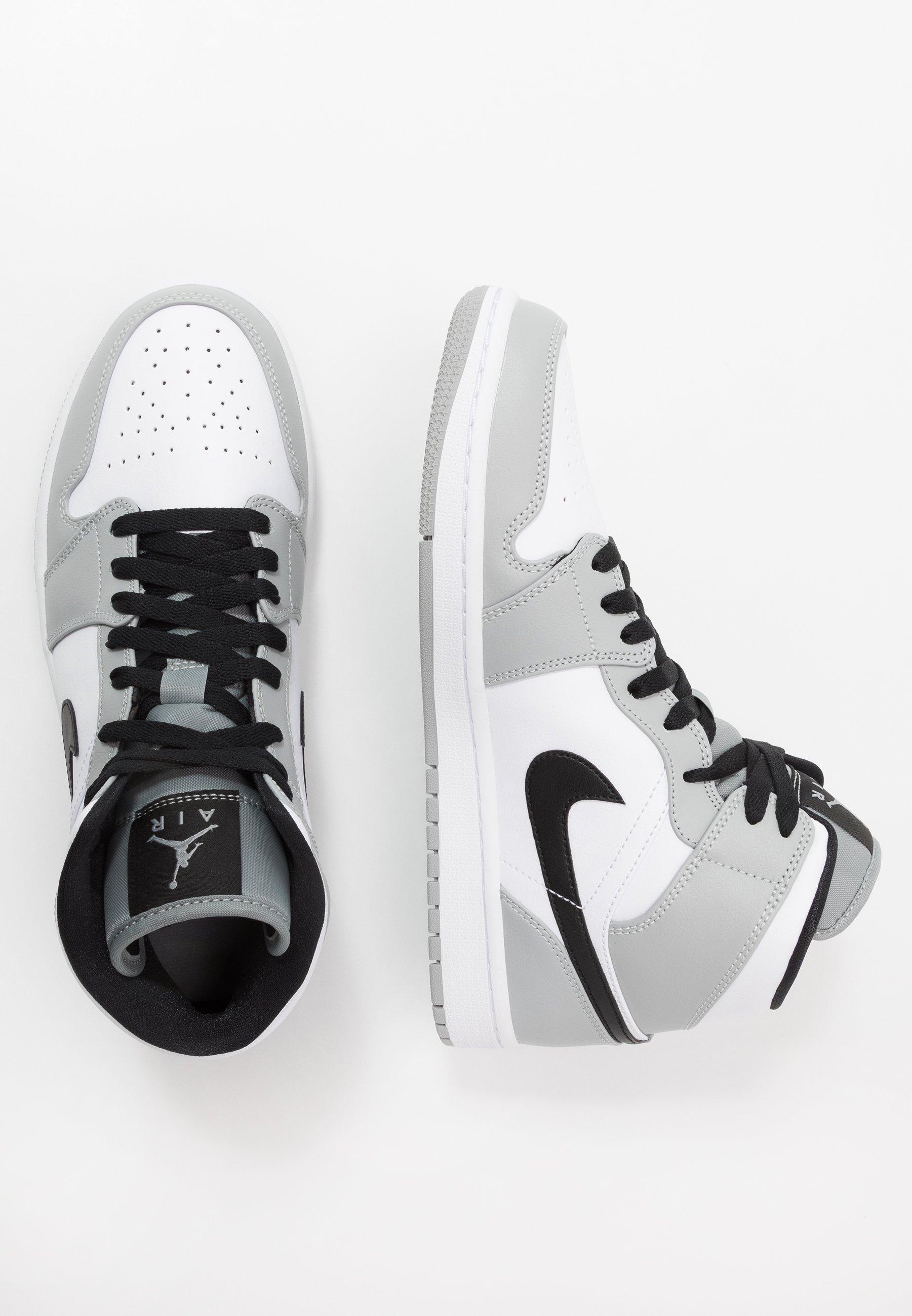 AIR 1 MID Höga sneakers light smoke greyblackwhite
