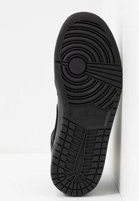 Jordan - AIR 1 MID - Sneakers alte - black - 4