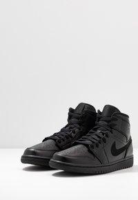 Jordan - AIR 1 MID - Sneakers alte - black - 2