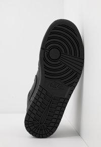 Jordan - AIR 1 MID - Korkeavartiset tennarit - black - 4